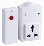 Smart RF and saving energy remote control extension socket
