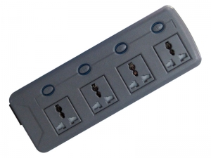Smart RF and saving energy Four holes remote control extension socket